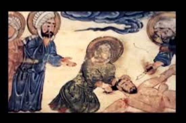 Death of Muhammad- AD 632