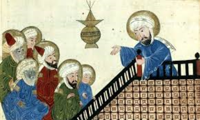 Muhammad and His Followers- AD 628