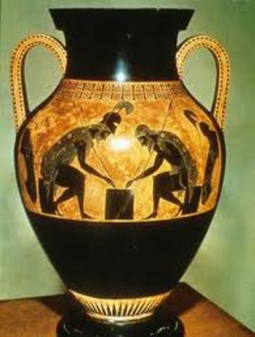 Ceramics in Greater Achilles- AD 625
