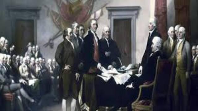 Declaration of America's independance