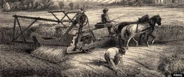 End of the Agricultrual Revolution