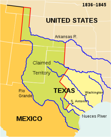 Texas Enters the US
