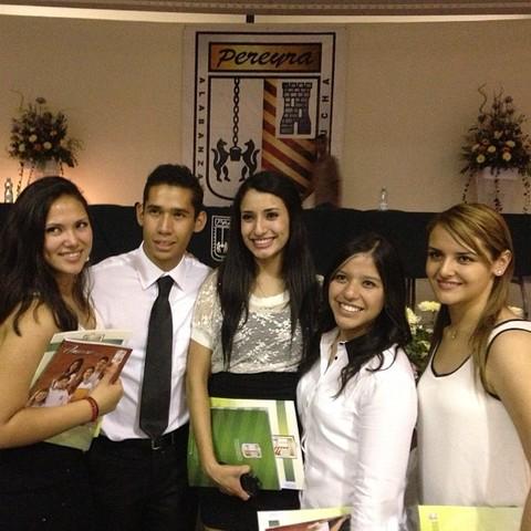 Graduación de Pereyra de Preparatoria
