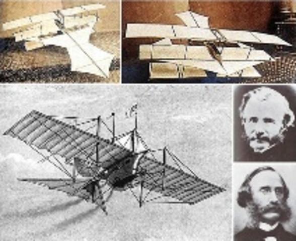 Primer vuelo mundial en un aparato más pesado que el aire