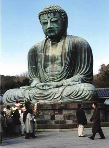 Shotoku Declares Buddhism the official Religion