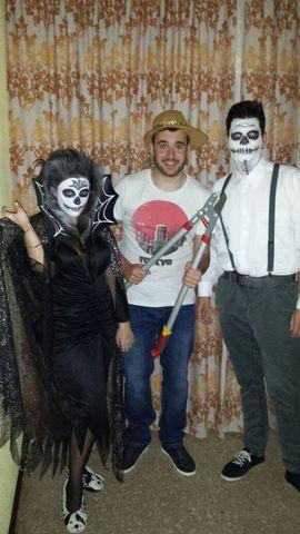 Celebrando Halloween en Valencia.