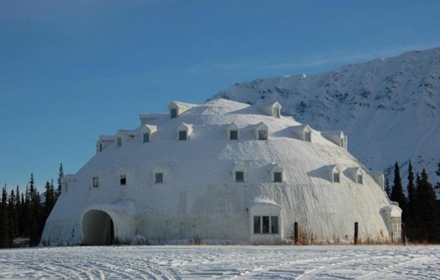 Ma maison au Pole Nord