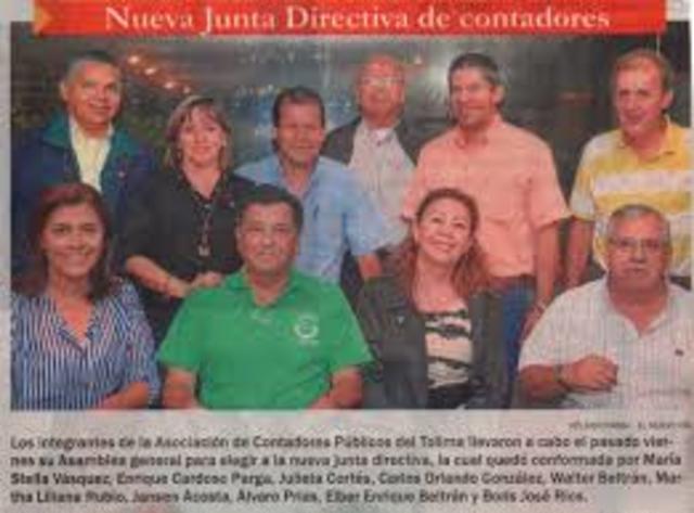 juntas directivas de las agremiaciones de Contadores de Colombia