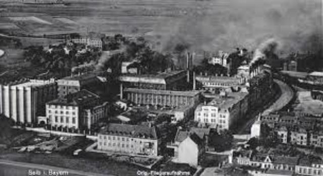 Establishment of the first European Factory