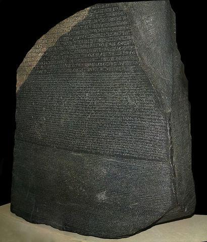 LA CREACION DE LA PIEDRA ROSEtA 196 A.C