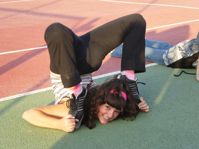 Comienzo en gimnasia rítmica