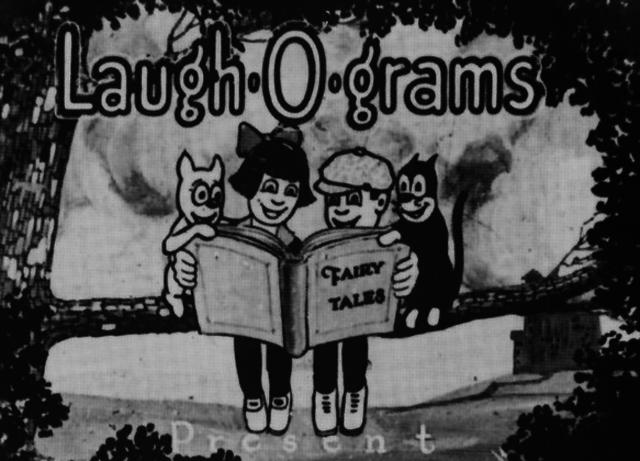 Disney works on Laugh-O-Grams