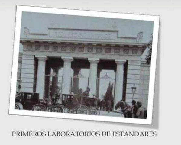PRIMEROS LABORATORIOS DE ESTANDARES DE CALIDAD