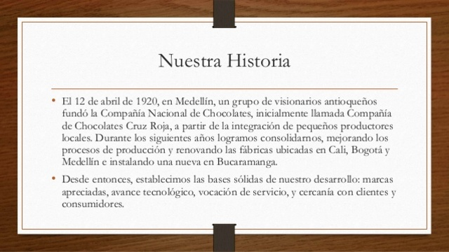 Fundación Compañía Nacional de Chocolates Cruz Roja