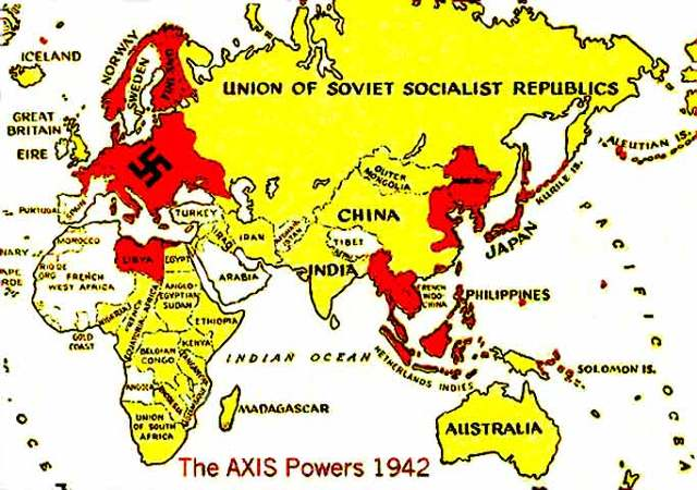 Formation of Axis powers.