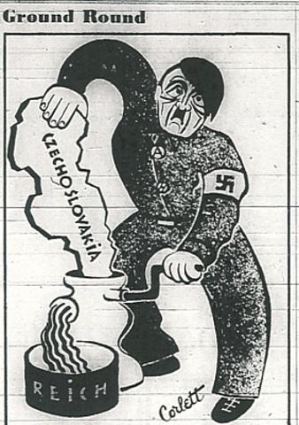 Hitler stuns the Democratic World