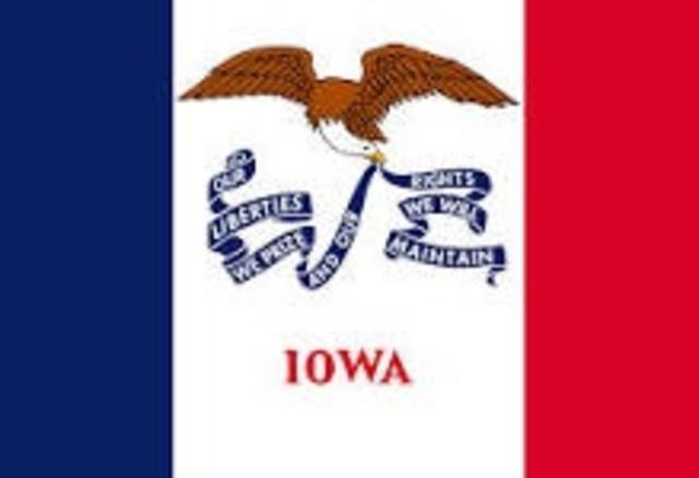 Iowa Becomes a State