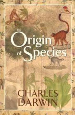 Publication of Origin of Species