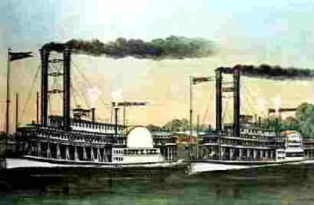 Navegación de vapor.