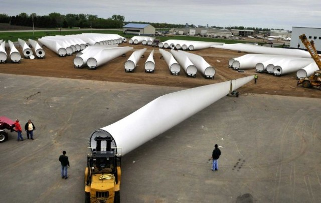 The Spread of Wind Power Technology