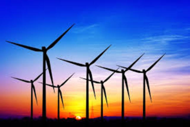 The cost of electricity from wind-generated