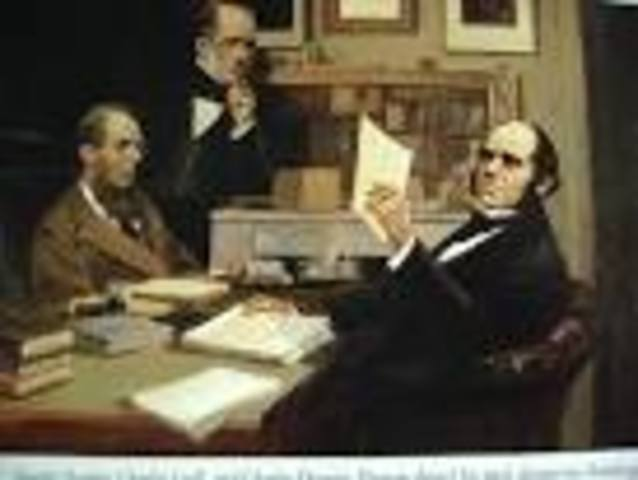 Darwin mets Lyell