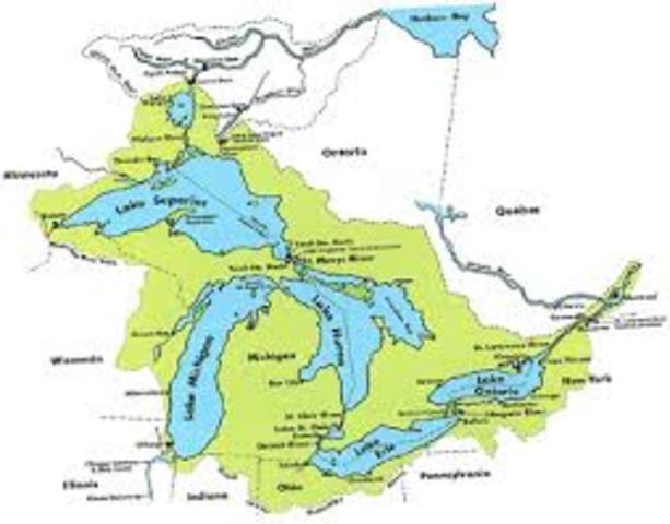 Great Lakes - 20 000 years ago – Cenozoic era