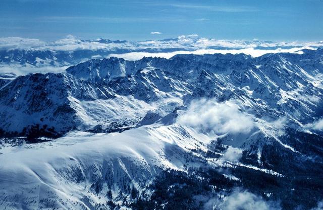 Rocky Mountains - 60 million years ago – Cenozoic era