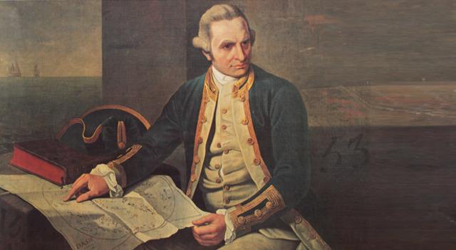 Captain Cook crossed the Antarctic Circle