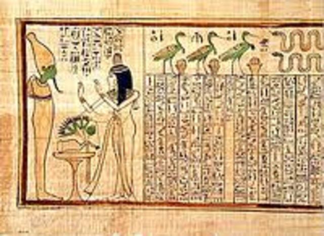 EGIPTO Y EL ARCHIVO Siglo XXIV a. C