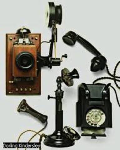 Telégrafo inalambrico, teléfono, cinematógrafo.