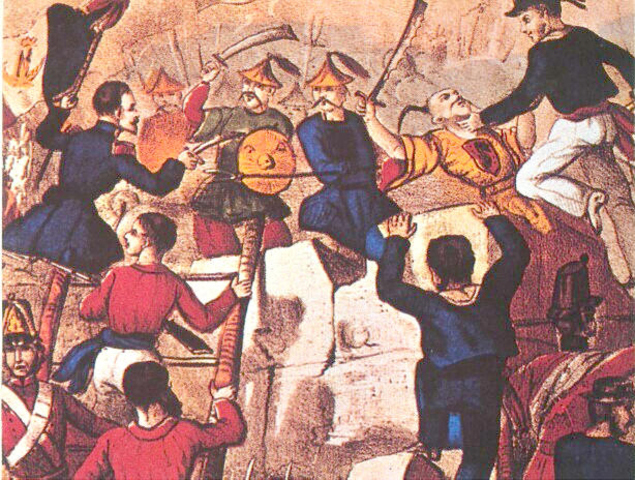 First Opium War in China