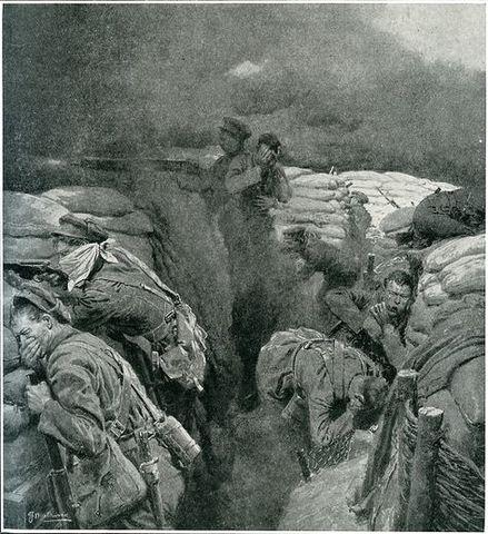 Chlorine Strike at Ypres