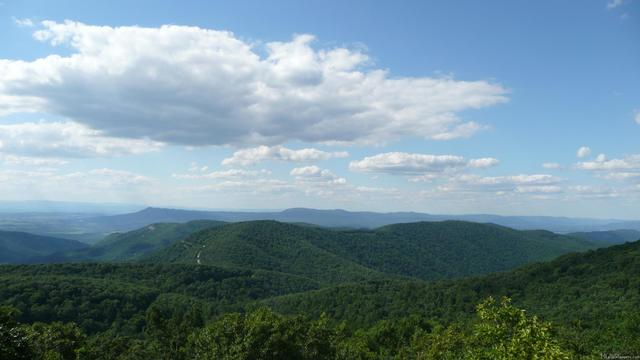 Formation of the Appalachian Mountains (Picture URL): http://en.wikipedia.org/wiki/File:Appalachian_Mountains.jpg