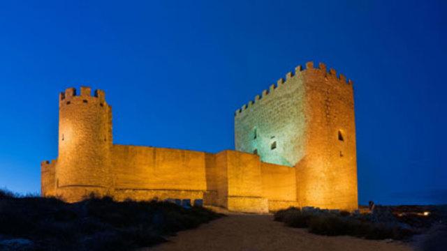 Construccion del castillo de jumilla a las 23:59:51 seg