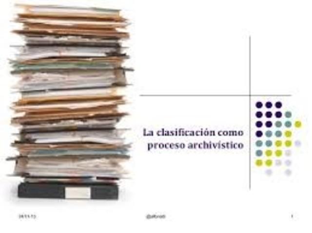 FORMALIZACIÓN DE LA TEORÍA DE LA ARCHIVÍSTICA: