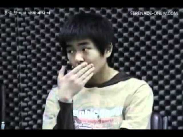 Onew's audition