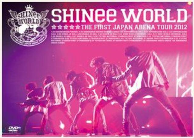 "SHINee THE FIRST JAPAN ARENA TOUR""SHINee WORLD 2012""."