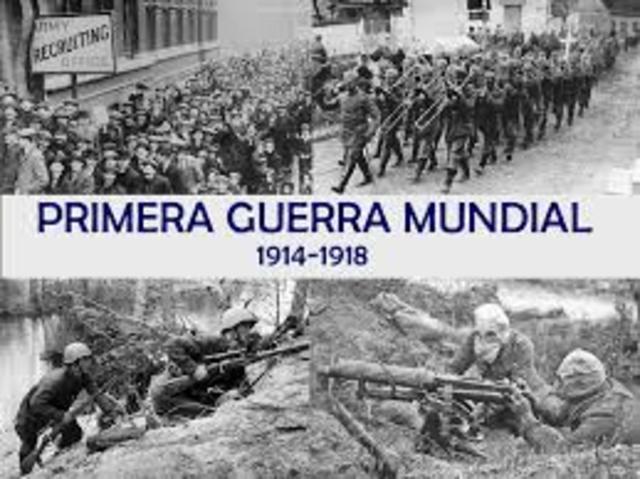 Primera Guerra Mundial a las 23 horas 59 minutos  59 segundos y 31 milésimas