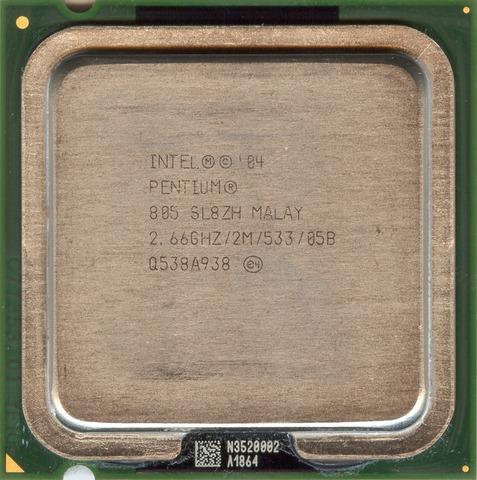 Intel Pentium D 805