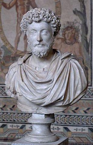 Marco Aurelio escribe las meditaciones. A las 19