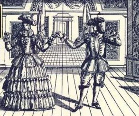 Danzas cortesanas europeas