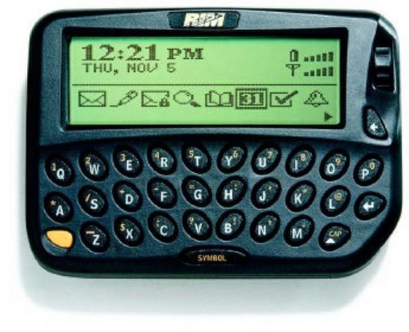 Lancement du premier BlackBerry