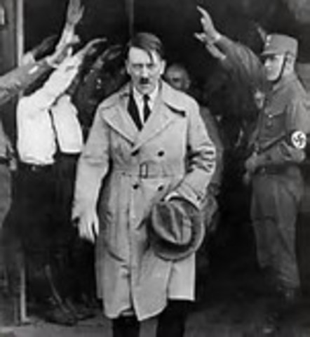 1933, March 21 - Hitler is named Chancellor of Germany