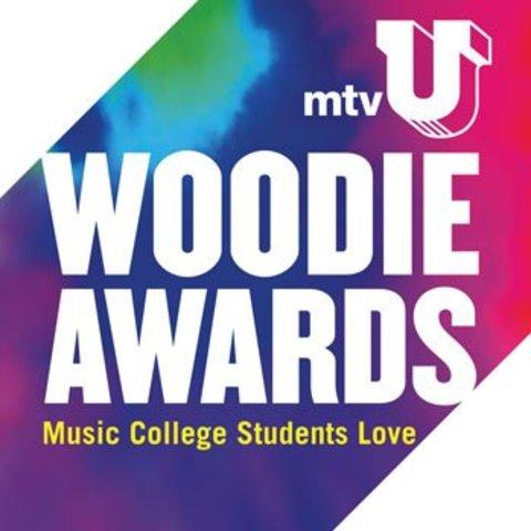 Wins MTV-U Woodie Award