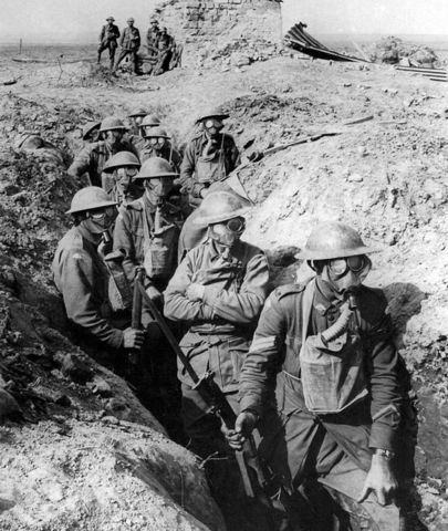 First battle of Ypres,