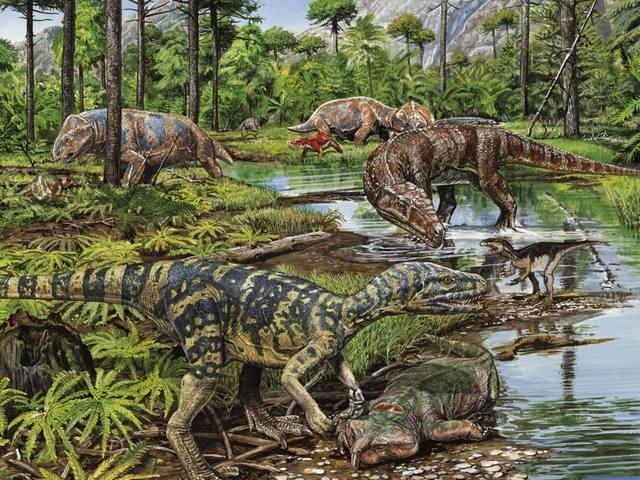 La extinción del Triásico-jurásico (16 dias 7 horas 16 min 46 seg)