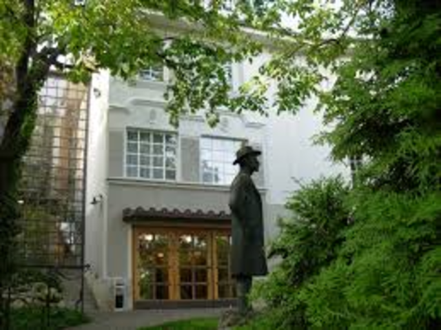 Bela Bartok's Birth
