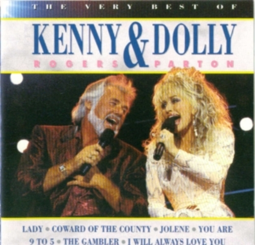 Kenny Rogers and Dolly Parton huge No. 1 Duet (positive)