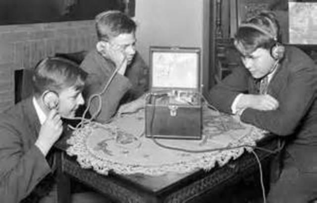 radios during jazz age